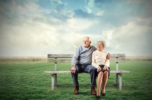 Plus âgée Photo Premium