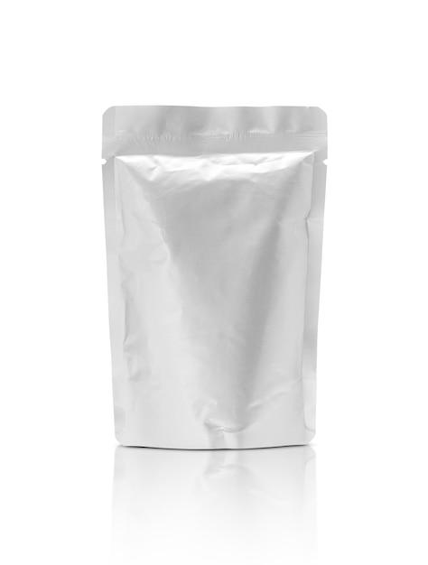 Pochette en aluminium pour emballage vide isolé Photo Premium