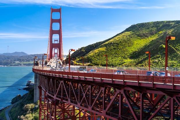 Point Du Golden Gate Bridge Vista Photo Premium