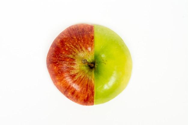 Pomme coupée en tranches Photo Premium