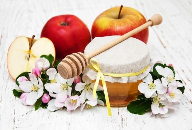 Pommes au miel Photo Premium