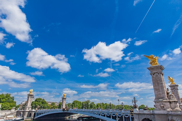 Pont alexandre iii à paris Photo Premium