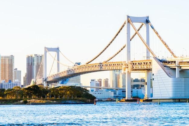 Pont Arc-en-ciel à Tokyo Au Japon   Photo Gratuite
