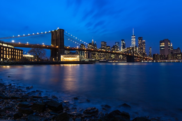 Le pont de brooklyn Photo Premium