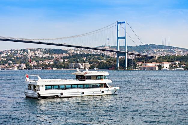 Le pont du bosphore Photo Premium