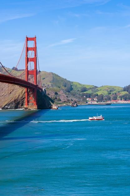 Le Pont Du Golden Gate Photo Premium