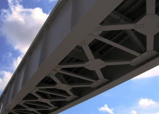 Pont de fer, fonte Photo gratuit