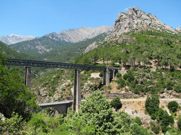 Pont Ferroviaire Conçu Par L'architecte Gustave Eiffel Photo Premium