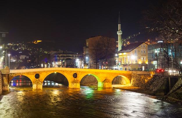 Pont latin à sarajevo Photo Premium