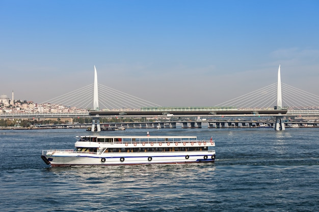 Pont de métro, istanbul Photo Premium