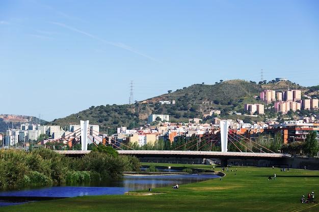 Pont De Santa Coloma Sur Besos à Barcelone Photo gratuit