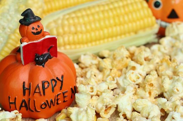 Popcorn halloween Photo Premium