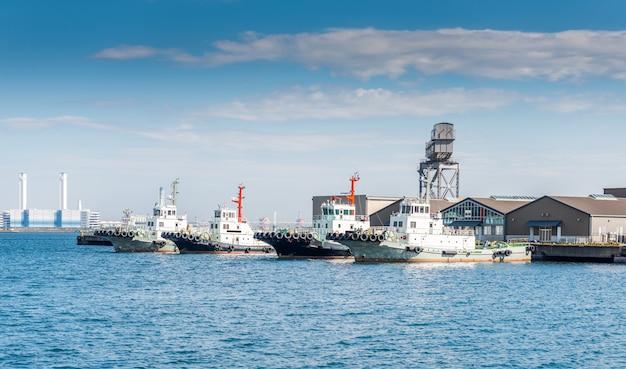 Port de yokohama Photo Premium