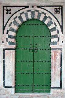 Porte tunisienne Photo gratuit