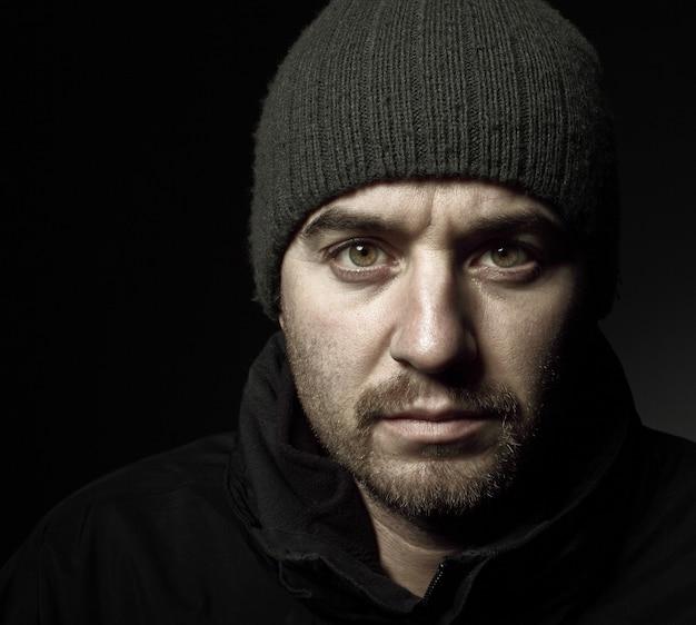Portrait Classique De Jeune Homme Caucasien Photo Premium