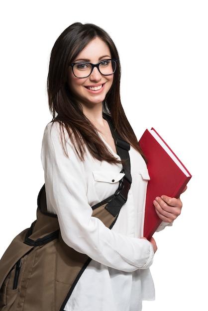 Portrait d'étudiant Photo Premium