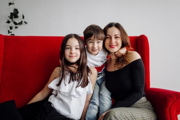 Portrait de famille Photo gratuit