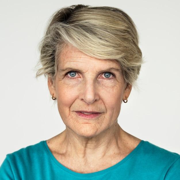 Portrait D'une Femme Américaine Photo gratuit