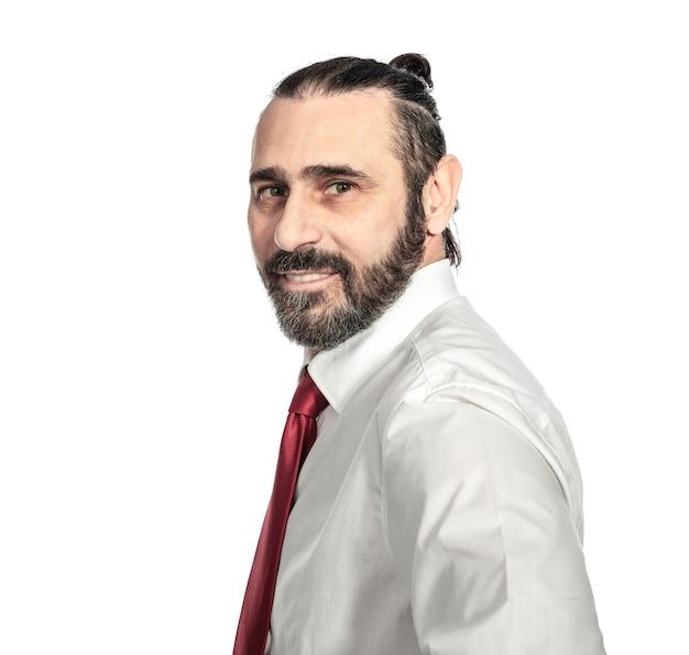 Portrait d'homme d'affaires caucasien Photo Premium