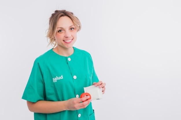 Portrait d'infirmière Photo gratuit