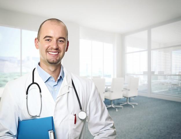 Portrait de médecin Photo Premium