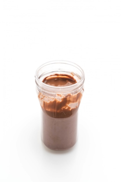 Pot de chocolat à la noisette Photo Premium