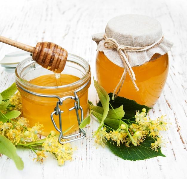 Pot à miel Photo Premium