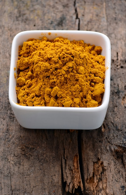 Poudre de curry Photo Premium