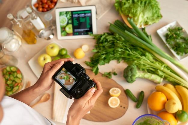 Prendre des photos pour la cuisine blog Photo gratuit