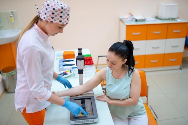 Préparation Au Test Sanguin Photo Premium