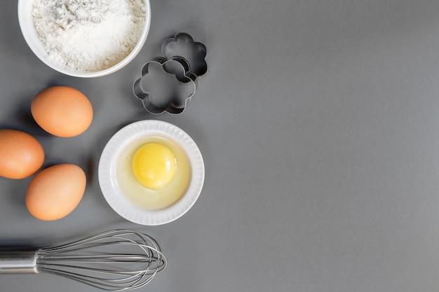 Préparation cuisson cuisson cuisine Photo Premium