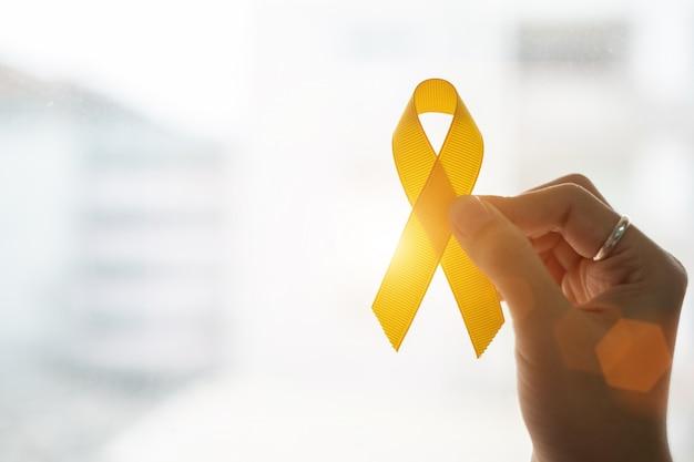 Prévention du suicide et sensibilisation au cancer chez l'enfant Photo Premium