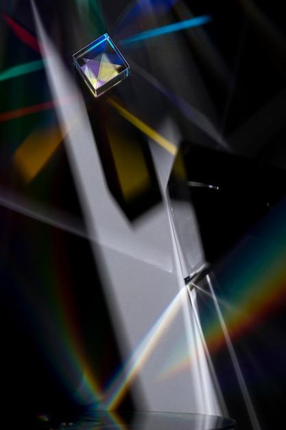 Prisme Dispersant Le Concept De Lumière Photo gratuit