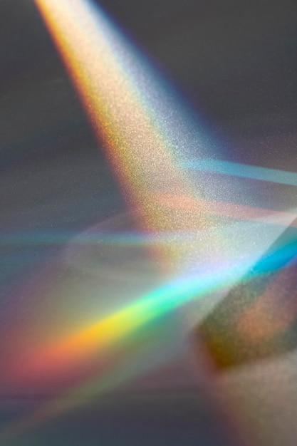 Prisme Dispersant Le Concept De Lumière Photo Premium