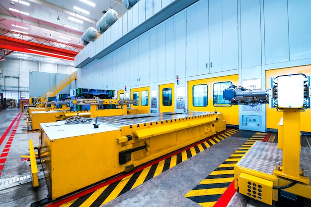 Production automobile Photo Premium