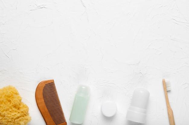 Produits cosmétiques et outils d'hygiène Photo gratuit
