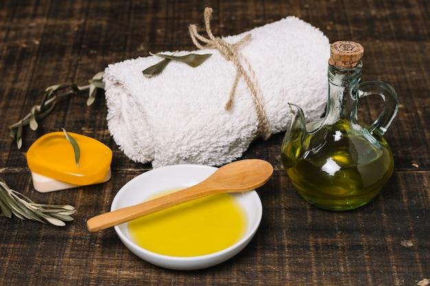 Produits D'hygiène Biologiques à L'huile D'olive Photo gratuit