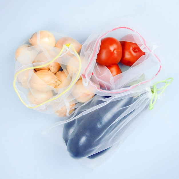 Produits, légumes en épicerie Photo Premium