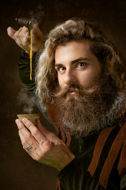 Profil De L'homme Magique Photo gratuit
