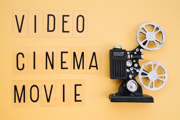 Projecteur de film avec Photo gratuit