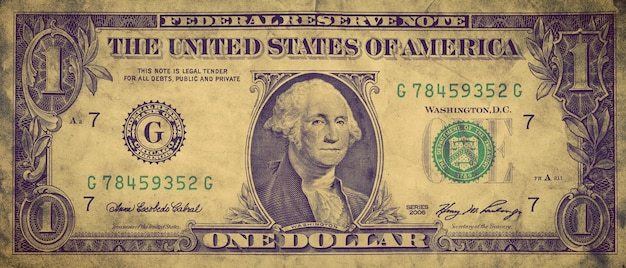 Projet De Loi D'un Dollar Photo gratuit
