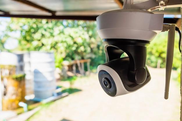 Protection De Sécurité Des Caméras En Circuit Fermé Photo Premium