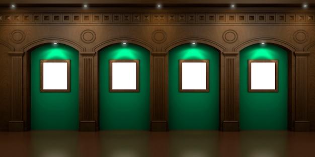 Quatre niches arquées Photo Premium