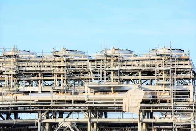 Raffinerie de gnl Photo Premium