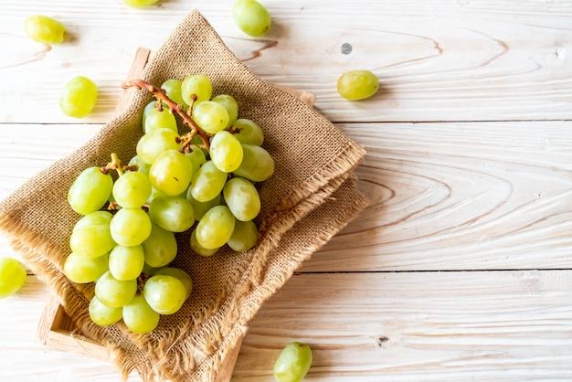 Raisins Verts Frais Photo Premium