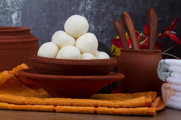 Rasgulla bonbons Photo Premium