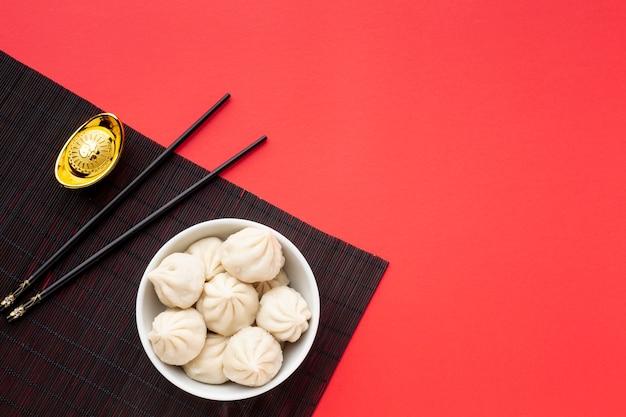 Raviolis Du Nouvel An Chinois Photo gratuit
