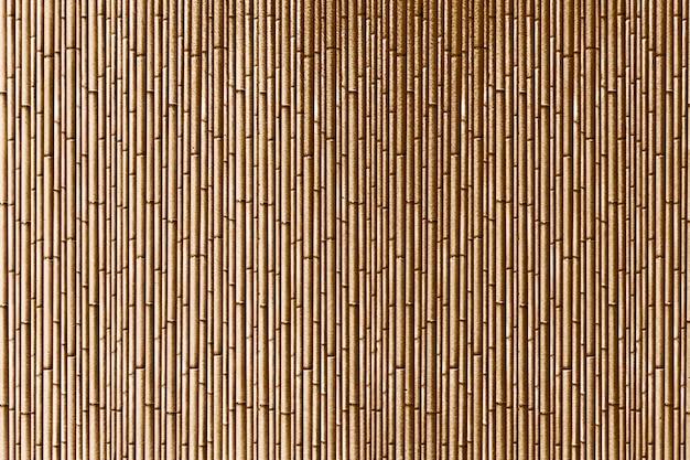Rayures De Bambou Dorées Texturées Photo gratuit