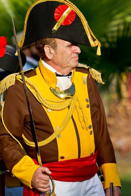 Reconstitution militaire historique Photo Premium