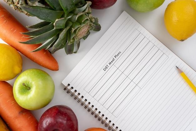 plan de régime de fruits gratuit